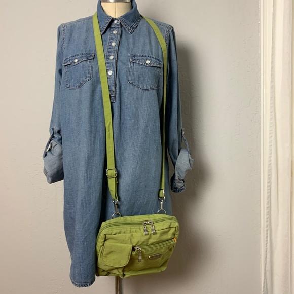 Baggallini Handbags - baggallini Small Green Crossbody Bag Purse